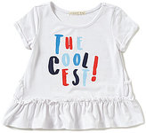 Copper Key Big Girls 7-16 The Coolest Ruffle Top