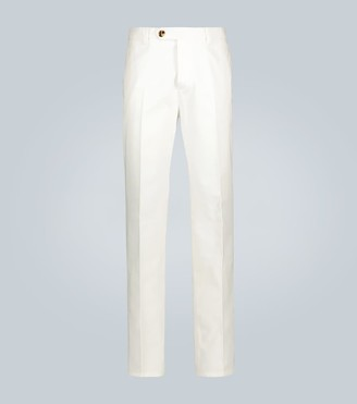 Brunello Cucinelli Relaxed-fit cotton-twill pants