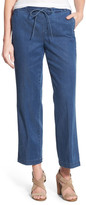 NYDJ &Jamie& Stretch Wide Leg Ankle Jeans