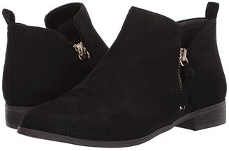 Dr. Scholl's Rate Zip (Black Microfiber Perf) Women's Shoes