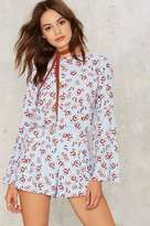 Factory Flower Play Graphic Romper
