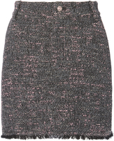 Derek Lam 10 Crosby Tweed Mini Skirt