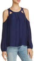 Ramy Brook Alana Cold Shoulder Top