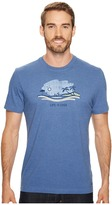 Life is Good Beach Vista Crusher Tee Men's Short Sleeve Pullover