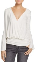 Ella Moss Faux-Wrap Top
