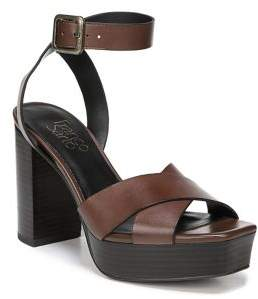 Franco Sarto Marta Leather or Suede Platform Sandals