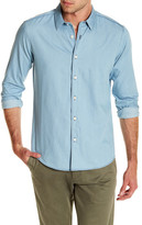 Theory Benner Arrowsift Long Sleeve Regular Fit Shirt
