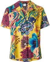 Paul Smith floral print boxy shirt
