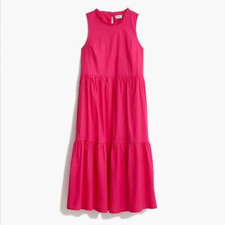 J.Crew Sleeveless tiered dress