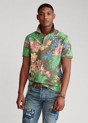 Ralph Lauren Custom Slim Fit Floral Polo