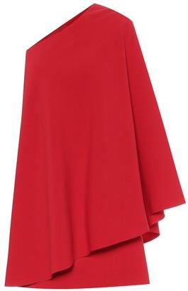 Valentino Stretch wool-crepe minidress
