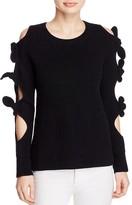 Zoë Jordan Lovelace Wool-Cashmere Sweater