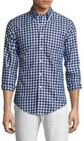 Brooks Brothers Checkered Cotton Sportshirt