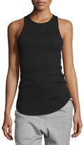 Vince High-Neck Ribbed Tank Top