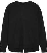 Ellery Grace Open-back Knitted Sweater - Black