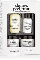 philosophy Cleanse, Peel, Treat Trial Kit