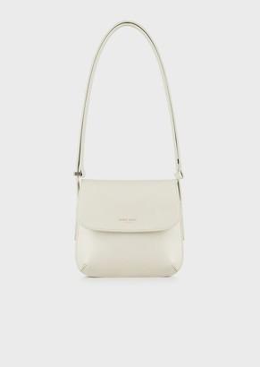 Giorgio Armani Small, Palmellato Leather La Prima Bag