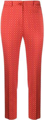 Etro printed straight-leg trousers