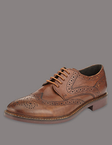 Autograph Big & Tall Leather Brogue Shoes