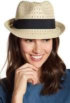 14th & Union Open Weave Fedora Hat