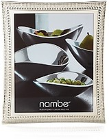 Nambe Beaded Frame, 8 x 10