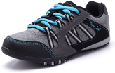 Black & Turquoise Athletic Sneaker - Women
