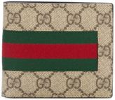 Gucci 'Web GG Supreme' billfold wallet - men - Leather/Canvas - One Size