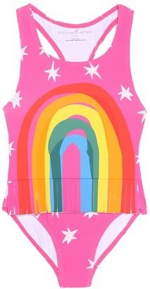 Stella McCartney Rainbow one-piece swimsuit