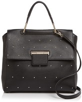 Furla Artesia Studded Leather Satchel