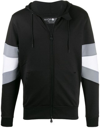 Hydrogen stripe detail hoodie