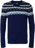 Woolrich jacquard knitted jumper - men - Cashmere/Wool - S