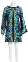 Nanette Lepore Silk Abstract Print Dress w/ Tags