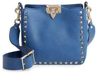 Valentino Garavani Rockstud Mini Hobo Crossbody Bag