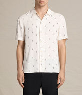 Allsaints Cygnus Short Sleeve Shirt