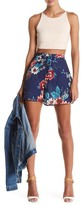 Living Doll Floral Mini Skirt