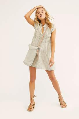 Cp Shades River Linen Stripe Tunic by at Free People