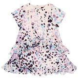 Roberto Cavalli Printed Ruffle Dress