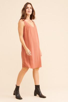 Universal Standard Essential V-Neck Slip Dress