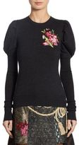 Dolce & Gabbana Floral Embroidered Knit