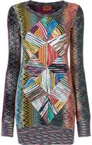 Missoni patterned sweater dress