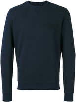Woolrich logo crew - men - Cotton/Polyester - M
