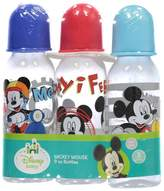 Disney Mickey Mouse 9 oz - 3 Pack of Baby Bottles