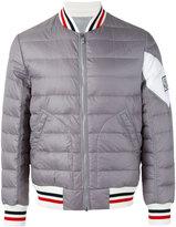 Moncler Gamme Bleu padded bomber jacket