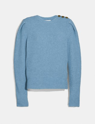Coach Full Sleeve Crewneck Sweater