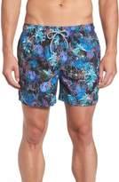 Ted Baker Men's Jungle Floral Print Swim Trunks