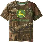 John Deere Little Boys' Short Sleeve Trademark Tee Child