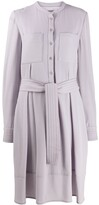 Talbot Runhof belted short dress