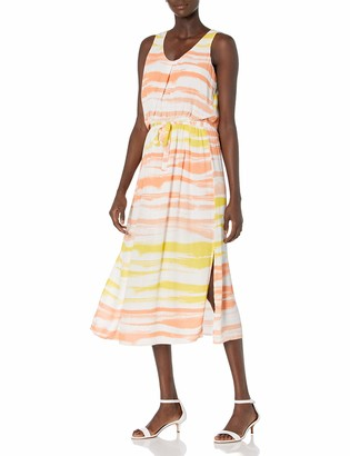Olive + Oak Olive & Oak Women's Tie-Dye Maxi Dress with Drawstring