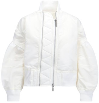 Sacai Billow Sleeves Bomber Jacket