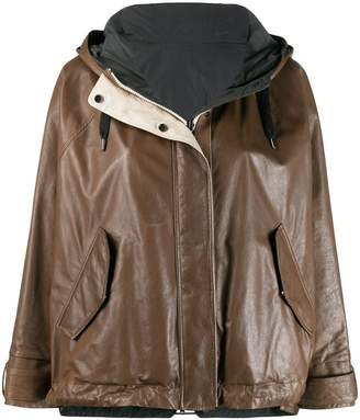 Brunello Cucinelli hooded jacket